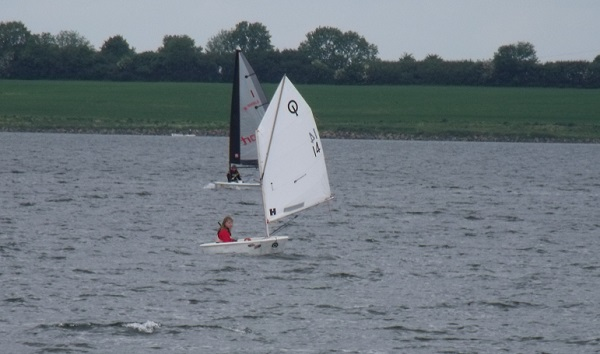 Aimee Russell at Cambs Youth League Grafham Water SC 2013
